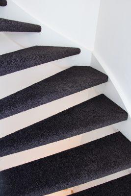 Trap bekleden carpetright trendy trap bekleden hoeveel for Hoeveel traptreden heeft een trap
